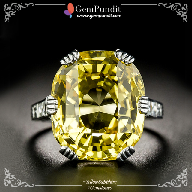 How to Identify Original Yellow Sapphire